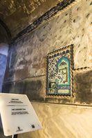 16th and 17th century Iznik tile depicting the Kaaba at Hagia Sophia