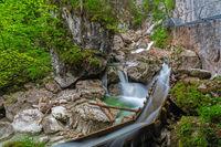 Poellat gorge in Schongau near Neuschwanstein castle