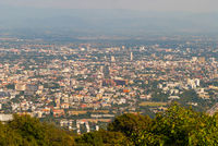 View over Chiang Mai, Thailand