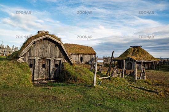 Stokksnes viking village, Iceland