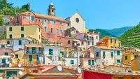 Vernazza town in Cinque Terre