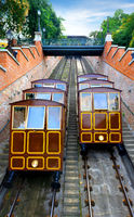 Funicular in Budapest