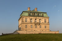 Jaegersborg Dyrehave, Denmark - October 2018: Eremitager hunting palace