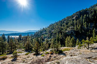 Lake Tahoe landscape - California, USA