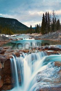 Elbow Falls near Bragg Creek Alberta in Kananaskis