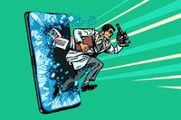 Scientific breakthrough. The mobile education concept