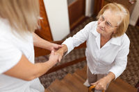 Providing help and support for elderly people