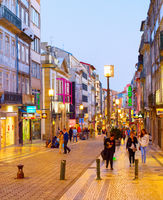 People  Catarina street shopping Porto