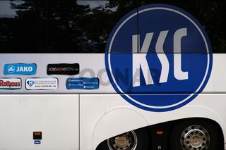 Mannschaftsbus KSC