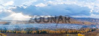 beautiful hemu village panorama