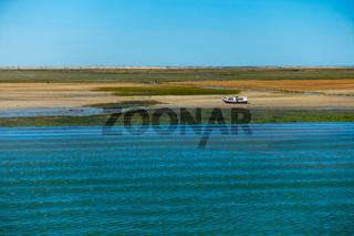 Portugal - Ria Formosa - view to the landscape