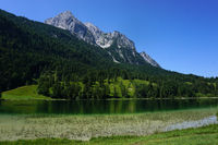 Igelsee, at Wetterstein mountains, Austria, Tyrol