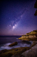 Milky Way Stars over Eastern Sydney Australia