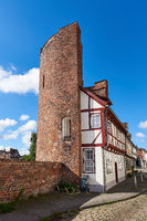 Half Tower of the Old Town Wall, Lübeck, Germany