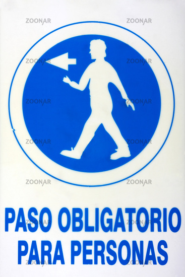 Signs in Andalusia. 001
