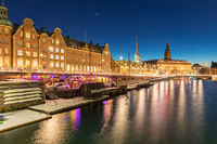 Copenhagen downtown