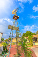 Solvang town windmill