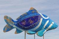 Carp-sculpture