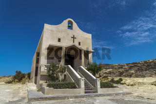 Gozo Island, Malta Chapel of Saint Anne in Dwejra.