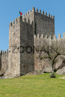 Medieval castle in Guimaraes