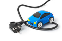Electric plug and toy car