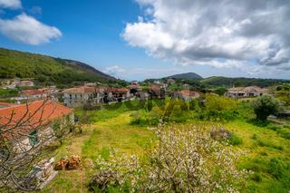 Village countryside of the Zante Island