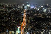 tokyo city night view