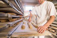 bakers preparing the dough