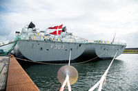 Danish Frigates in Copenhagen Harbour