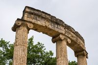 Palaistra at the site of the first Olympics at Olympia in Greece