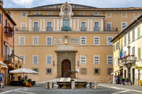 The facade of the Apostolic Palace