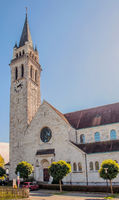 Catholic church St. Johannes, Romanshorn, Canton Thurgau, Switzerland