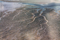Aerial Photo of the Schleswig-Holstein Wadden Sea National Park in Germany
