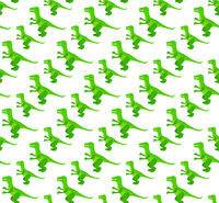 Tyrannosaurus seamless pattern. Dinosaur endless texture, repeating background. Vector illustration