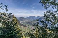 View of Lake Lucerne, Wirzweli, Nidwalden, Switzerland, Europe