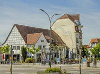 Buildings on the Hohgarten-Street, Singen am Hohentwiel