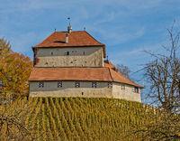 Castle Girsberg near Waltalingen,municipality Stammheim, Canton Zürich, Switzerland