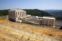 Gold mine mining buildings