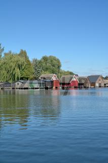 Idylle in der Mecklenburgischen Seenplatte bei Roebel/Mueritz,Mecklenburg-Vorpommern,Deutschland