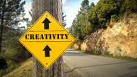 Street Sign to Creativity