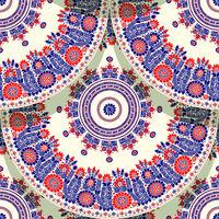 Hungarian motif tile 2