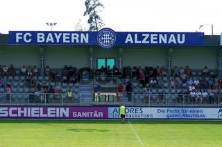 Tribüne FC Bayern Alzenau