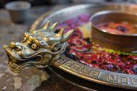 Chengdu Sichuan Hot Pot close up