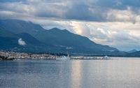 Tivat on the Bay of Kotor in Montenegro
