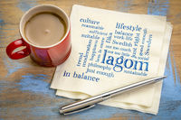 lagom, Swedish concept of balanced lifestyle