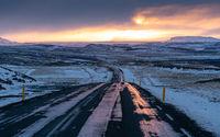 Sunset, Iceland, Europe
