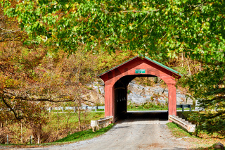 Arlington Covered Bridge in Vermont