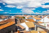 Provencal city Saintes-Maries-de-la-Mer