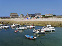 little harbor of Goury in France