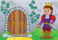 Prince by old door theme image 1